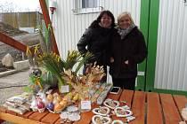 V sobotu mezi 9. a 11. hodinou se areál pod fotbalovým hřištěm v Boršově nad Vltavou zaplnil stánky.