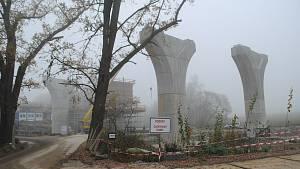 Výstavba D3 listopad 2020