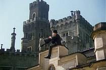 Seriál Jihočeské filmování popisoval i natáčení snímku Pan Tau. Ten vznikal mimo jiné na Hluboké