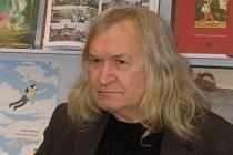 Básník Ivan Martin Magor Jirous.
