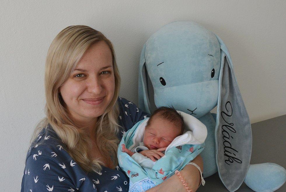 Vladimír Filip ze Lhenic. Prvorozený syn Lucie Jandové a Vladimíra Filipa se narodil 21. 2. 2021 ve 12.20 h. Při narození vážil 3,55 kg.