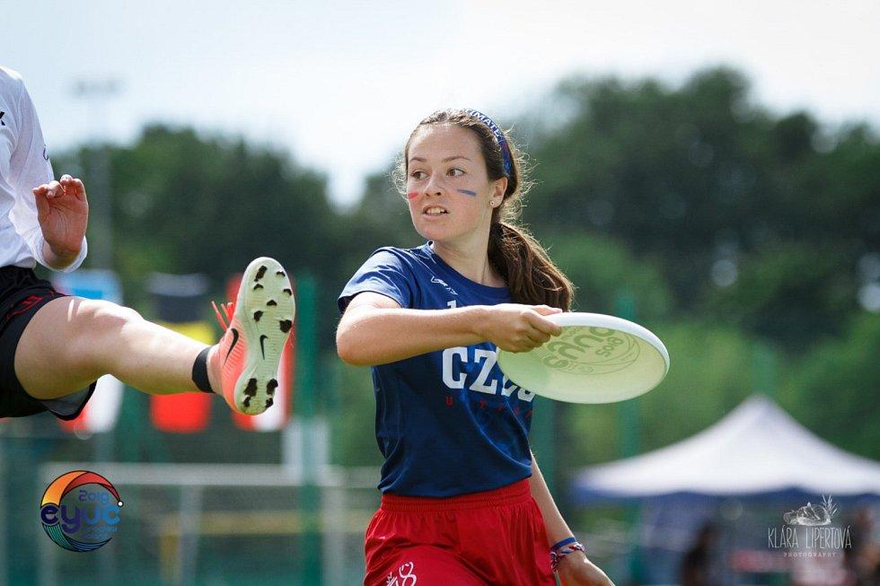 Zlato vybojovaly české juniorky na mistrovství Evropy ve frisbee. V sestavě byly i Jihočešky.