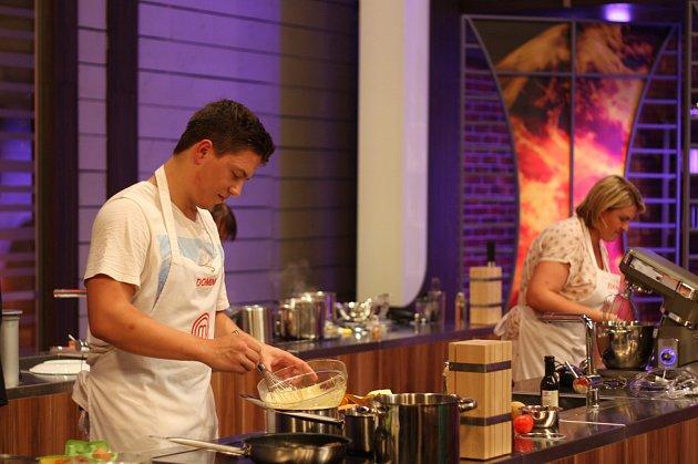 Vsoutěži Masterchef se Dominik Dorňák setkal se skvělými šéfkuchaři.