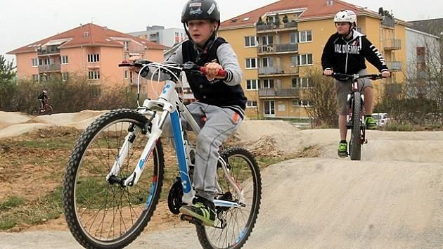 Minibikepark Máj v Českých Budějovicích.