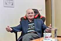 Břetislav Shon, bývalý ředitel českobudějovické nemocnice.