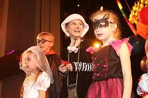 Dětský maškarní karneval v KD Metropol