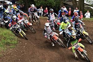 Motoristická sezona na jihu Čech se rozbíhá, první závod krajského přeboru v motokrosu se jel v Klukách u Písku.