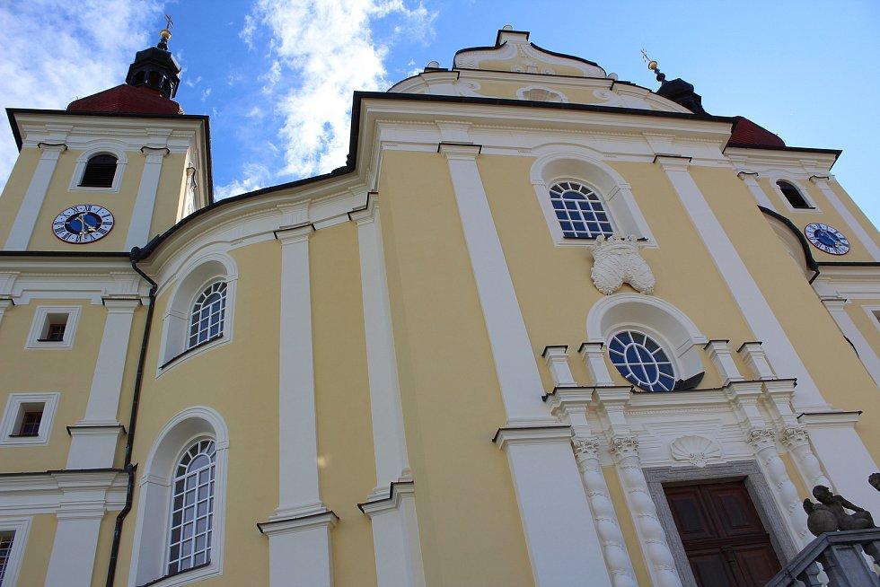 Komplex pro poutníky s ubytováním a restaurací chce církev Rodina Panny Marie vystavět poblíž kostela na Dobré Vodě.
