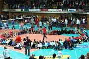 Jihostroj ve finále extraligy hrál s Kladnem