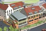 Stavba by měla vyrůst nedaleko centra města v sousedství sokolovny.