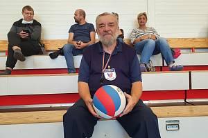 Volejbalový rozhodčí Václav Aubrecht