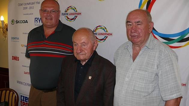 Olympionici Kocman, Mejta a Procházka