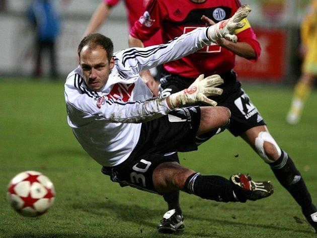 Zdeněk Křížek si výhru s Jabloncem užíval.