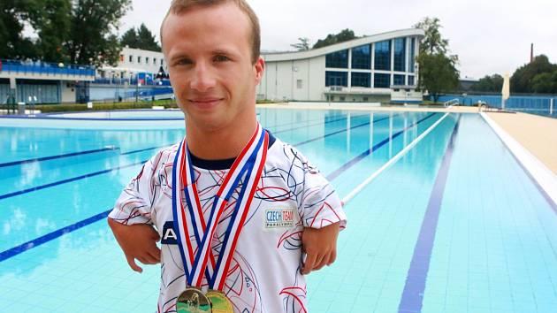 Paralympionik Arnošt Petráček zvítězil na mistrovství Evropy