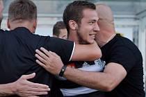 Tři body Dynamu před týdnem zajistil vítězným gólem Jindřich Kadula, uspějí černobílí i v Sokolově?