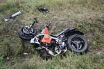 Nejvíce ohrožení jsou na silnicích z hlediska nehod motorkáři. Vloni jich na jihu Čech zemřelo pět, přičemž dva z nich se nešťastně srazili v srpnu u Hluboké nad Vltavou.