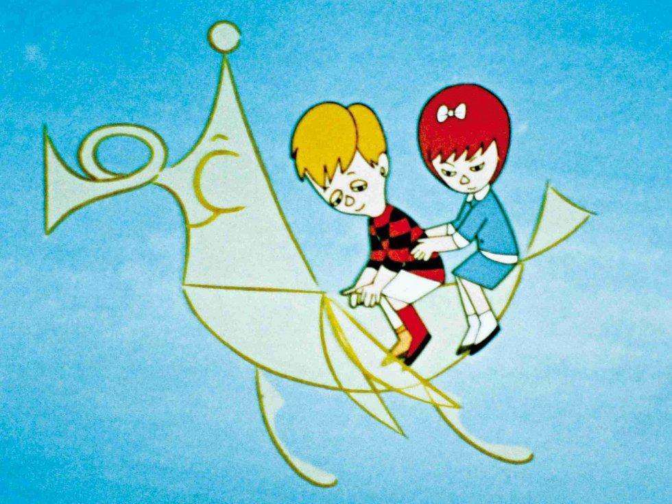 Animované filmy, které natočil Jiří Brdečka (1917 - 1982), známý hlavně jako 'otec' Limonádového Joea, přináší nové, třídílné DVD. Snímek z filmu Špatně namalovaná slepice.