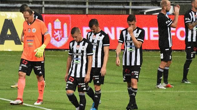 Vstup do ligy se fotbalistům Dynama nepovedl, doma podlehli Slavii 0:6.