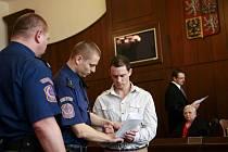 Před českobudějovickým Krajským soudem stanul 22. března Václav Prokeš obžalovaný z pokusu vraždy.