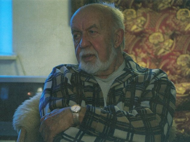 Spisovatel Věroslav Mertl (1929 - 2013).