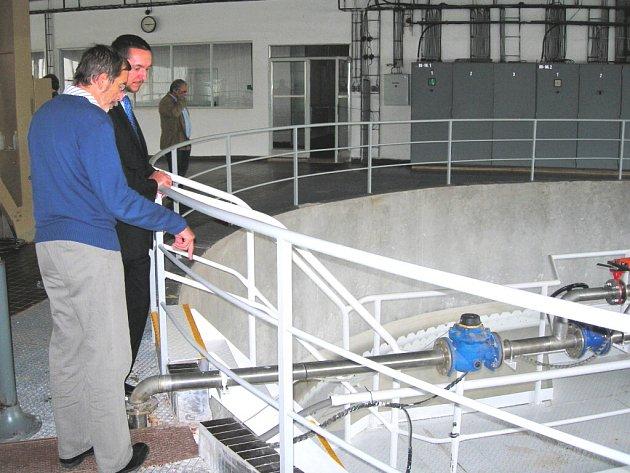 Tento týden byla slavnostně ukončena II. etapa rekonstrukce úpravny vody Plav.