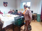 Volby ve Štěpánovicích.
