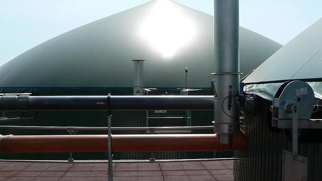 Bioplynová stanice v Žabovřeskách využívá třeba hovězí kejdu.