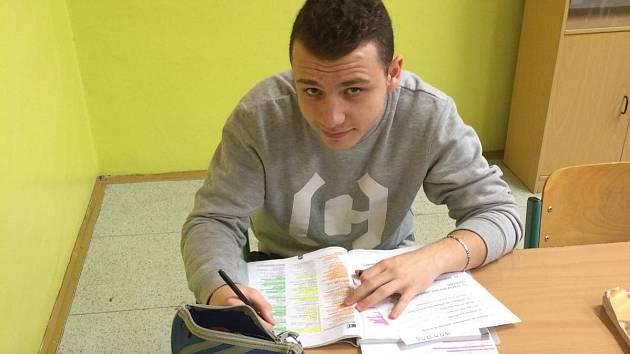 Dominik Szalay z TJ Karate České Budějovice