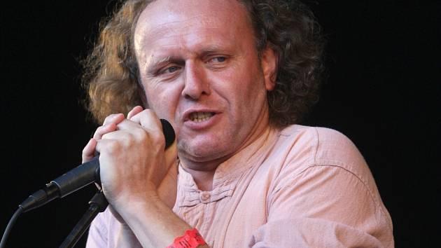 Herec a moderátor Jaroslav Dušek