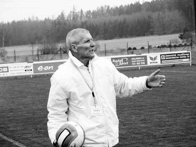 S výkonem týmu byl v K. Újezdě spokojen jak trenér Jankova Vojtěch Brozman (foto), tak domácí Jiří Klimeš.