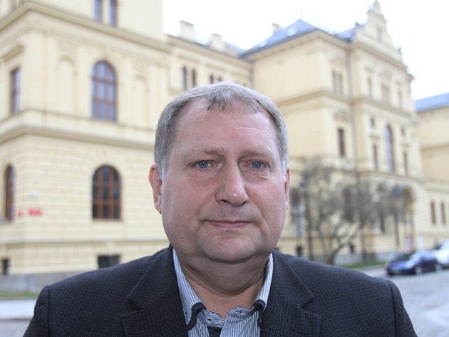František Štangl, ředitel Jihočeského muzea.