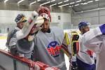 Hokejisté Motoru poprvé na ledě