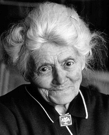 Prácheňské muzeum vPísku připomíná ilustrátorku Karafiátových Broučků, Marii Fischerovou Kvěchovou. Snímek zroku 1983.