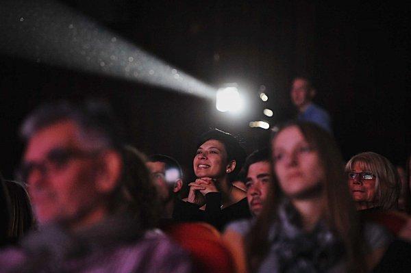 Mezinárodní festivalu studentských filmů vPísku 2015, diváci.