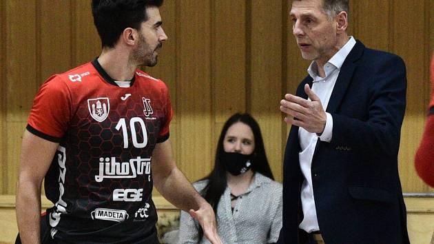 Volejbalový trenér René Dvořák