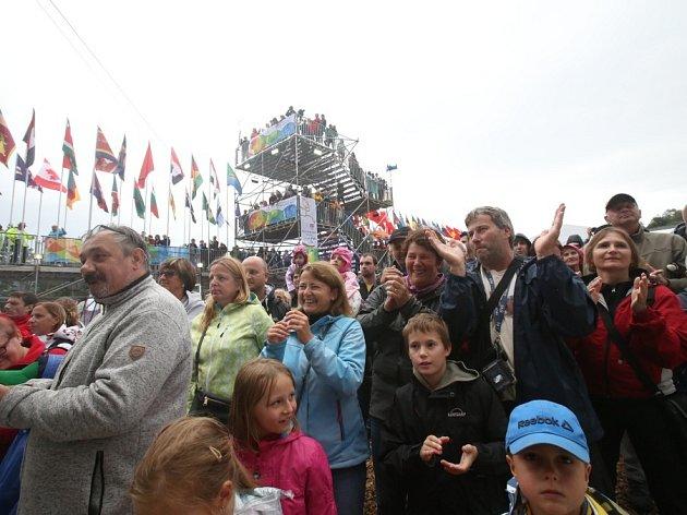 ATRAKCE. Olympijský park v Lipně nad Vltavou v pátek otevřel své brány. Přístupný bude až do 21. srpna.