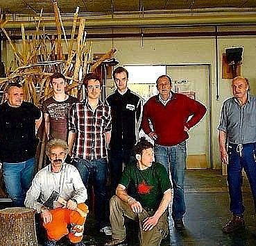 Studenti HAK a jejich umělci.