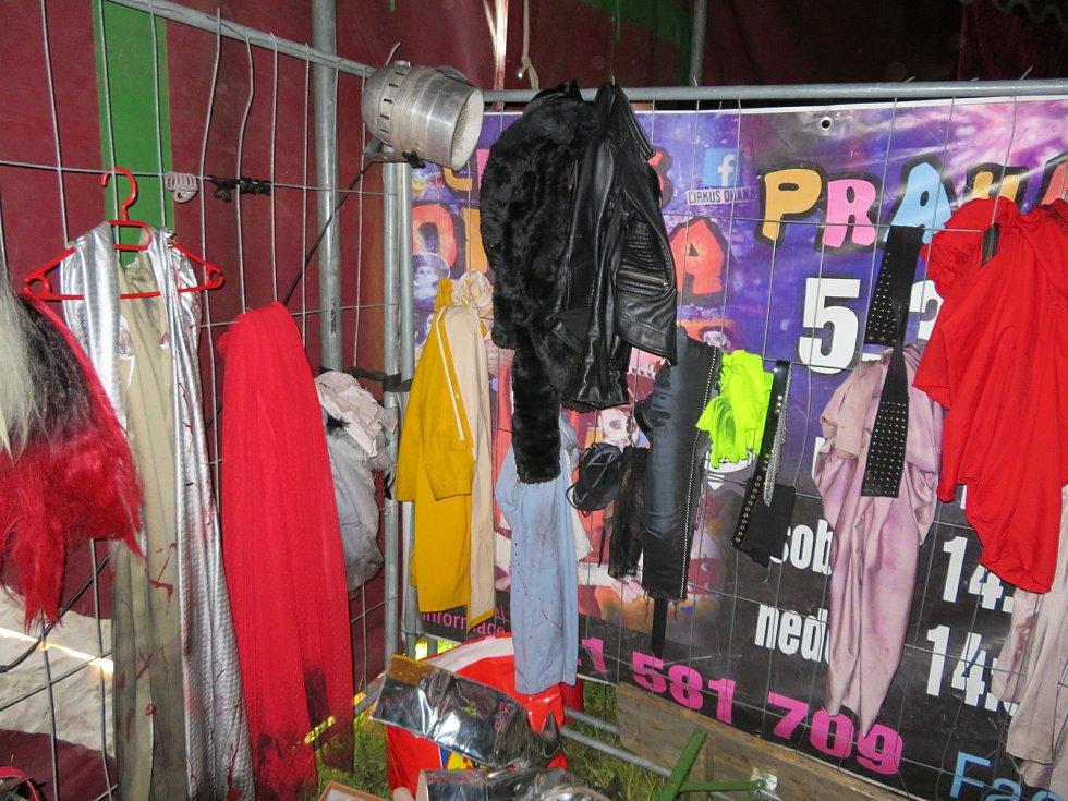 První a jediný český hororový cirkus hostuje v Českých Budějovicích. Podívejte se do zákulisí.