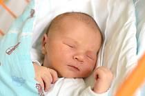 Kateřina Stoličková je maminkou novorozeného Eliáše Stoličky. Porodila jej 26. 8. 2019 v 15.45 h. Jeho porodní váha byla 4,28 kg. Žít bude v Českých Budějovicích. Foto: Ilona Lonsmínová