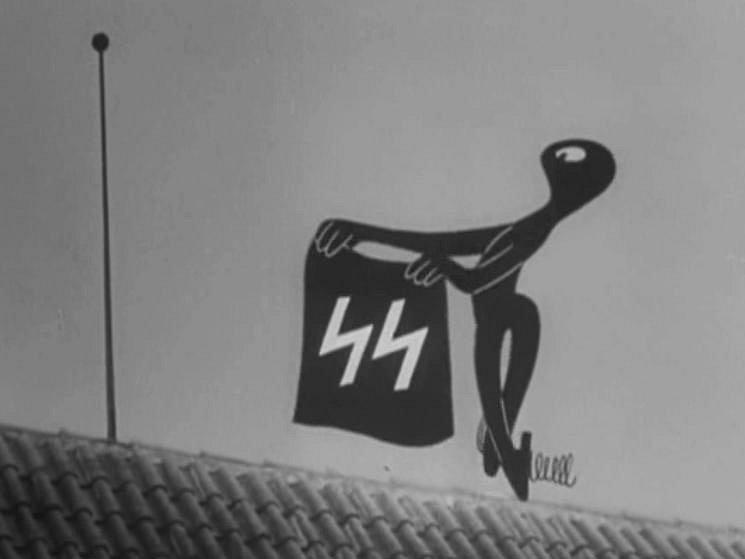 Z animovaného filmu Pérák a SS Jiřího Brdečky.