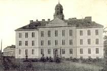 Kasárny  před rokem 1918.