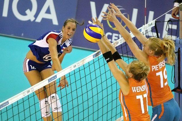 Helena Havelková je nejlepší volejbalistkou ČR