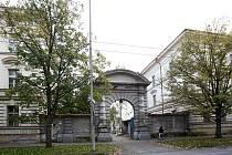 Areál bývalých kasáren v Žižkově ulici.