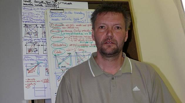 Volejbalový trenér Petr Brom