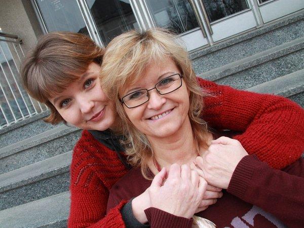 Pavlína Jíšová a její dcera Adéla Jonášová.