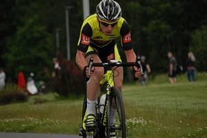 Ondřej Bambula dokončil etapový závod Vysočina 2014 na dvanáctém místě
