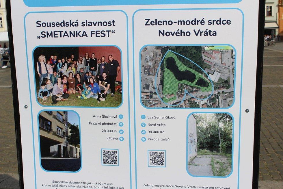 Veřejnost může v Českých Budějovicích hlasovat pro projekty, které podpoří rozpočet města.
