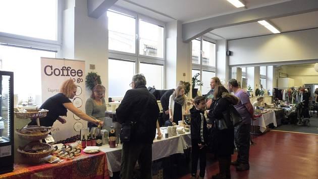 Ekologický vánoční trh Šťastné a udržitelné navštívíte v Riegrova 51.