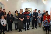 Zahájení výstavy Žízeň po malbě v Týně nad Vltavou.