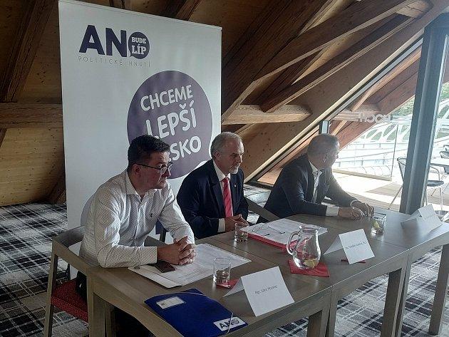 Jihočeské ANO zveřejnilo svou kandidátku s55 jmény, míří sní do říjnových krajských voleb.